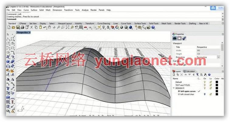 《Rhino 6工作流程基础核心技术视频教程》中文字幕教程 rhino犀牛-第4张