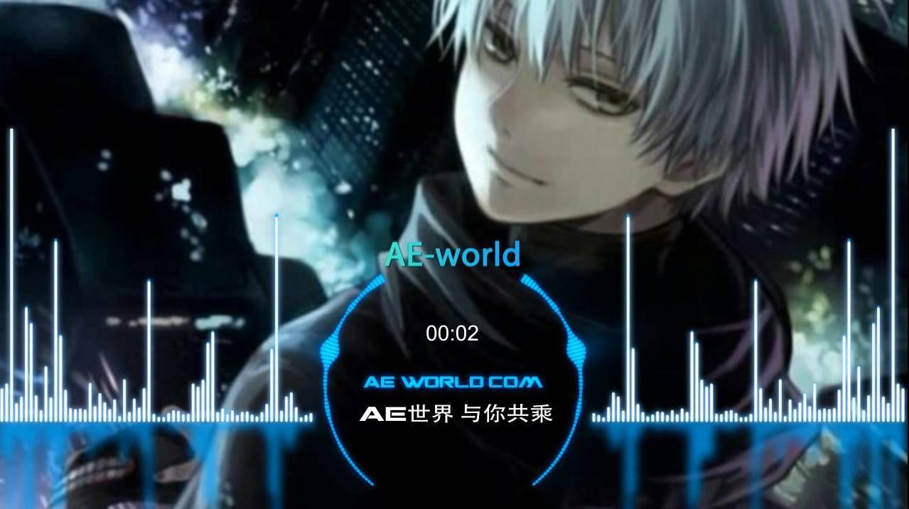 抖音快手火热的音乐可视化视频效果AE模板01 时尚动感-第1张