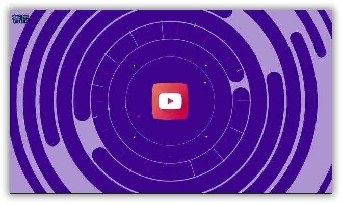 简洁扁平化mg动画logo标志演绎AE模板 logo/片头-第1张