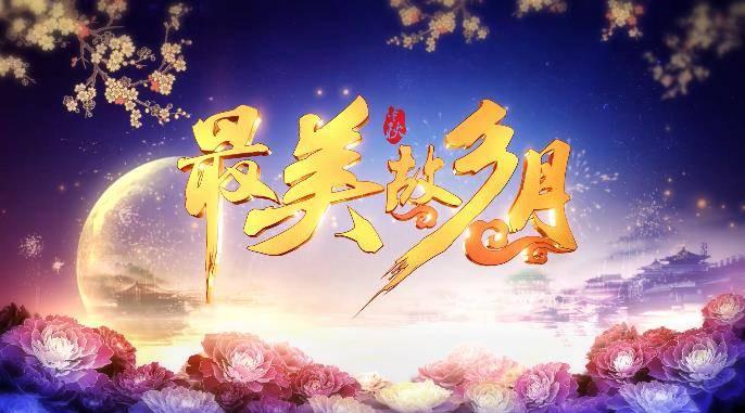 最美中秋节视频片头AE模板 logo/片头-第1张